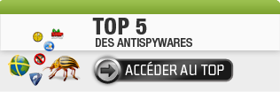 Top 5 des Antispywares